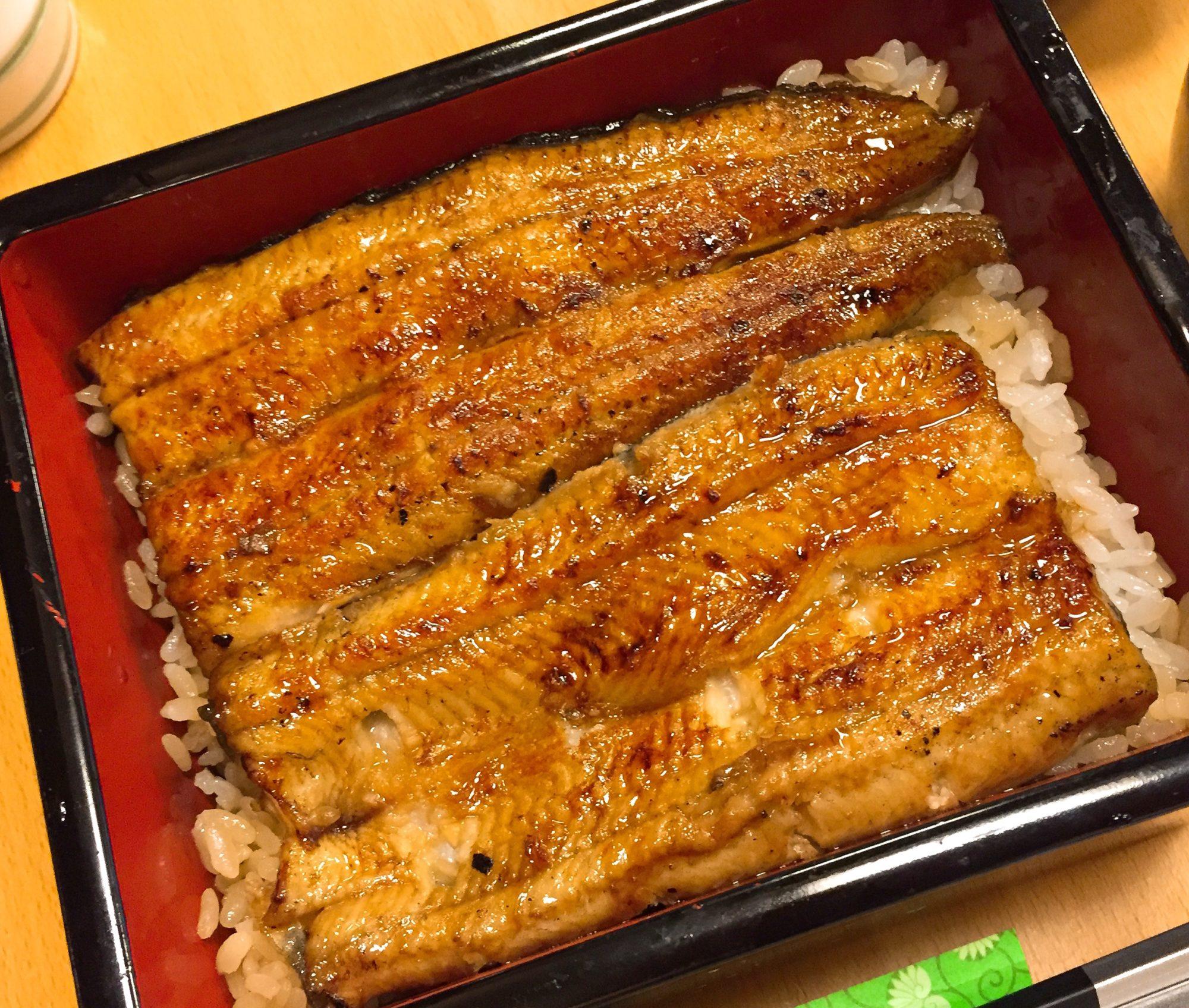 土用の鰻,カロリーを抑えるコツは「ご飯少なめ」オーダーにあり