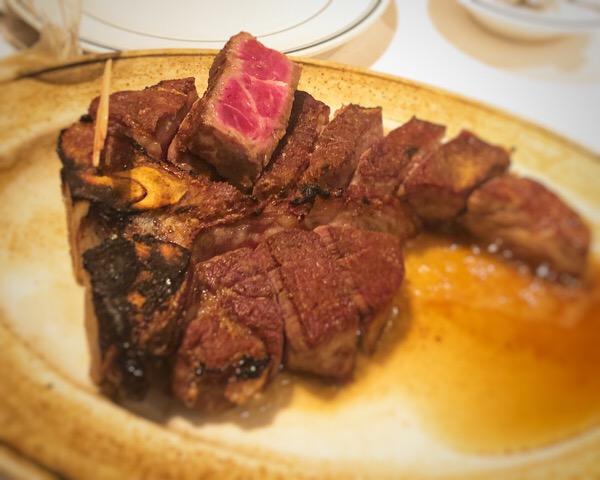 ウルフギャング大阪店は子連れでも大丈夫|妹夫婦とT-boneステーキを美味しくいただきました
