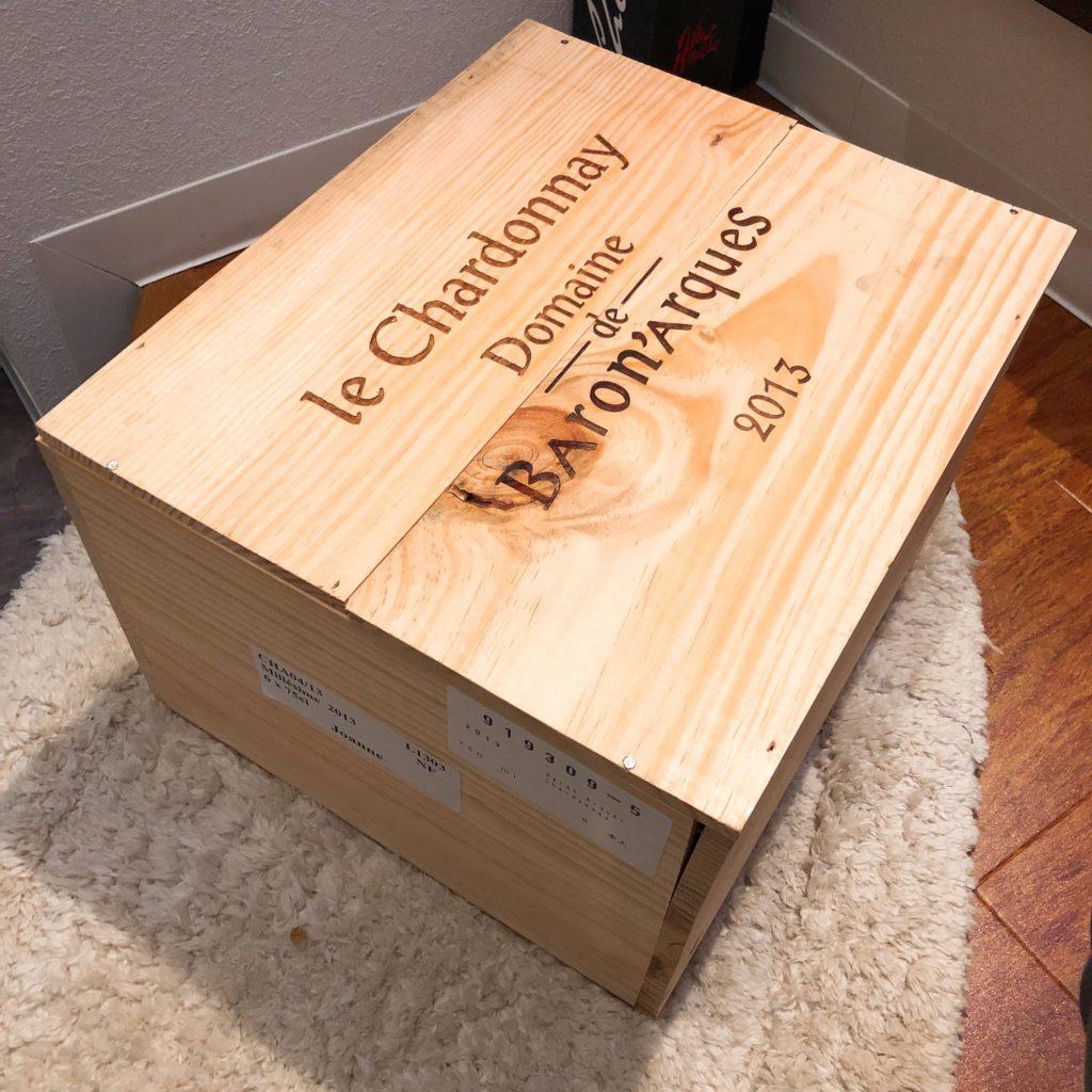 ワインの木箱の開け方|マイナスドライバー1本で開けられます