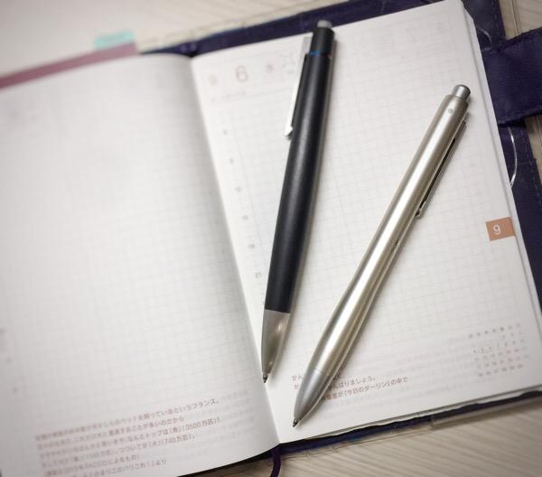 ステッドラー・アバンギャルド&ジェットストリーム・リフィル【改造】で最高の書き心地!替芯をそのまま装着できます