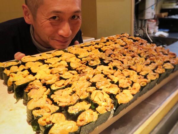 銀座・寿司さいしょのウニ祭り|うにくで贅沢な夜を過ごした思い出
