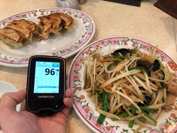 ランチの中華料理のあとは緩やかに血糖値が下がり,ワインを飲みながらすき焼きを食べた年始休暇最終日の1日 糖尿病内科医のフリースタイルリブレ自己血糖記録