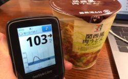 クリニック開院準備のお手伝いでおにぎり、カップ麺を食べて血糖値急上昇させながら作業し続けた1日|糖尿病内科医のフリースタイルリブレ自己血糖記録