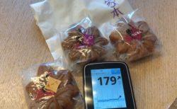 もみじ饅頭で血糖値上げつつ宮島厳島神社参拝し、広島でお好み焼きで満腹になった1日|糖尿病内科医のフリースタイルリブレ自己血糖記録